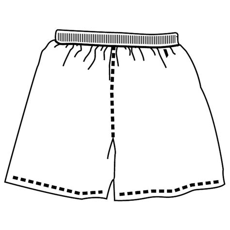 Shorts Template shorts vector graphics at vectorportal