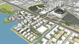 City Coliseum Oakland Releases Draft Plan For Coliseum City Project