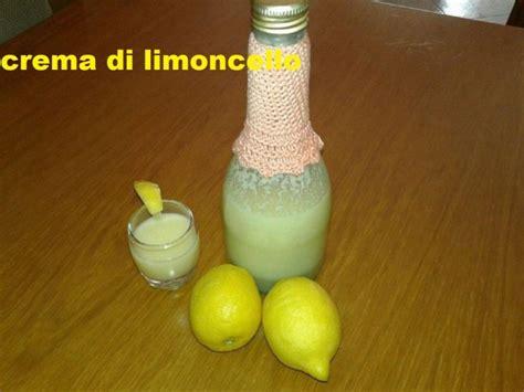 ricetta limoncello in casa crema di limoncello fatta in casa con limone zucchero e latte