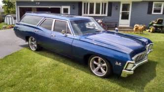 1967 chevy impala ss 396 wagon restored numbers match with protecto plate on air for sale