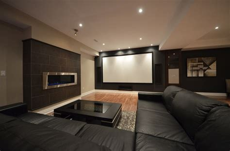 Basement Home Theatre Basement Home Theater