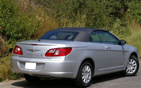 Chrysler Sebring Convertible Top by Autoberry Chrysler Sebring 2007 2011 Convertible Top