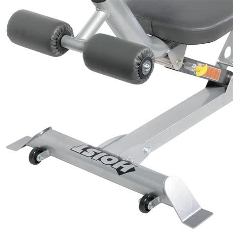 hoist adjustable decline bench hf 4264 adjustable ab bench hoist fitness