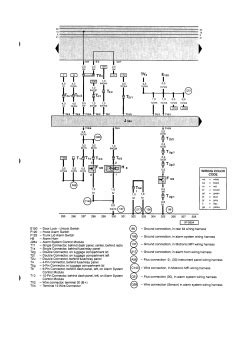 security system 2007 volkswagen passat free book repair manuals repair guides main wiring diagram equivalent to standard equipment cabrio 1999 1999