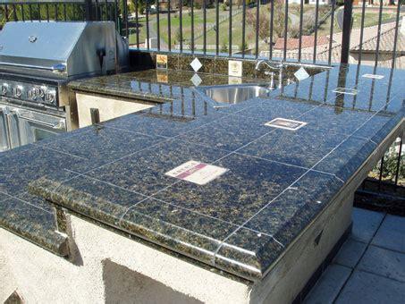 Outdoor Kitchen Backsplash bedrock creations your best resource for granite tile