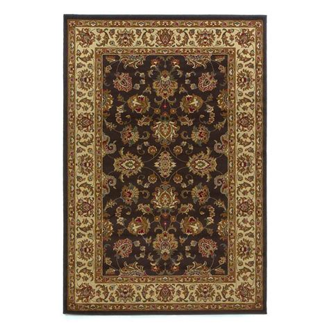 7 Ft Rugs by Kas Rugs Imperial Tradition Mocha Ivory 5 Ft 3 In X 7 Ft