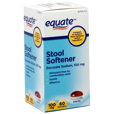 colace comparable docusate sodium docqlace stool softener brands of stool softener 28 images buy health sense