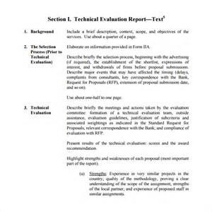 template for evaluation report sle evaluation report 11 documents in pdf word