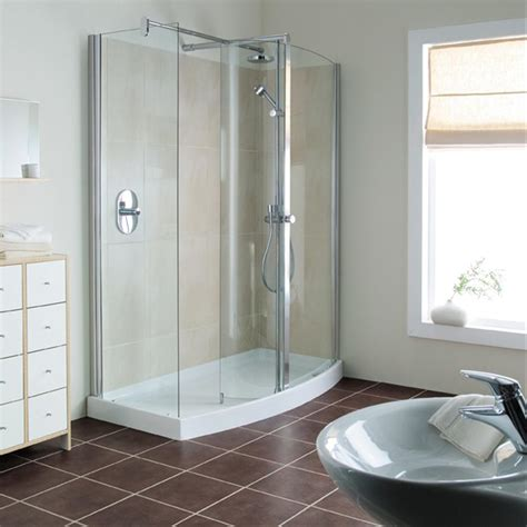 Bathroom Corner Shower Corner Shower Units Homesfeed