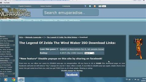 emuparadise not working how to download gamecube iso s youtube