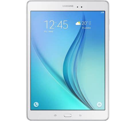 Samsung Galaxy A White samsung galaxy tab a 9 7 quot 4g tablet 16 gb white deals pc world