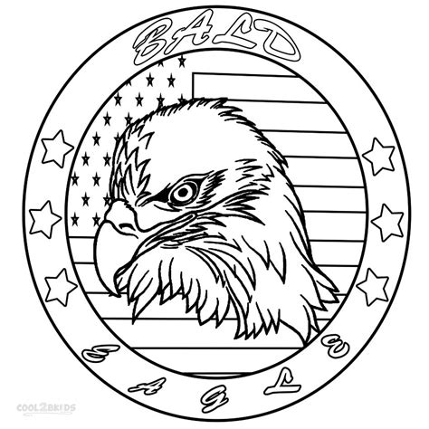 bald eagle coloring pages free free coloring pages of bald eagle drawing