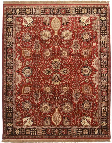 rug style 8 x 10 tabriz style rug 13001