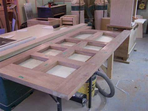 How To Build A Front Door Pdf Exterior Door Construction Plans Free