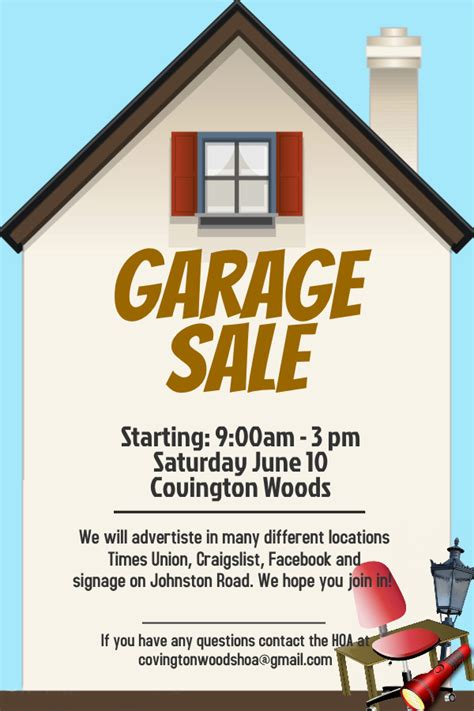Garage Sale Ads by Annual Events At Covington Woods Covington Woods
