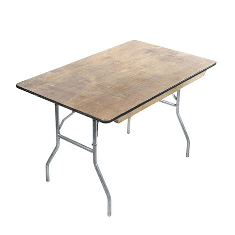 30 x 48 plywood table american rentals