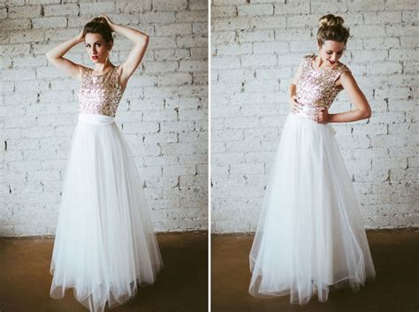 25 non traditional wedding dresses for the modern brit co