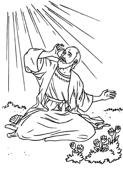 25 Unique Saul To Paul Ideas On Pinterest Gibson Les St Coloring Pages Religious