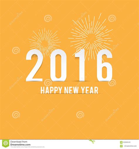 new year and yellow new year minimalist yellow stock illustration image