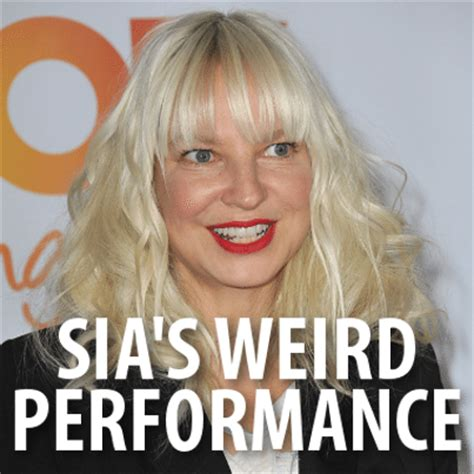sia chandelier performance sia s quot chandelier quot live performance sia
