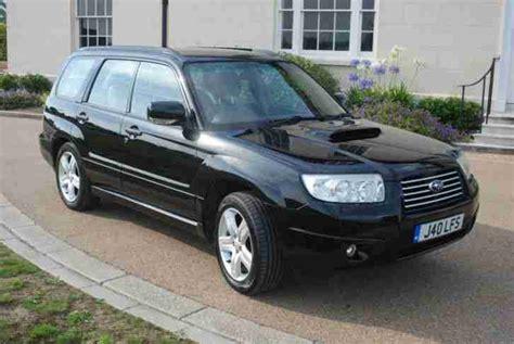 2006 subaru forester 2 5xt subaru 2006 forester 2 5xt turbo auto black car for sale