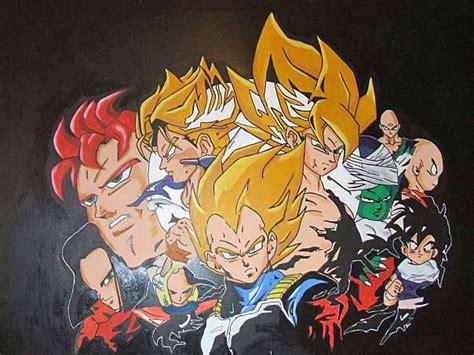 Dragon Ball Z Wallpaper Mural | dragon ball z wall mural by macklinsmurals on deviantart