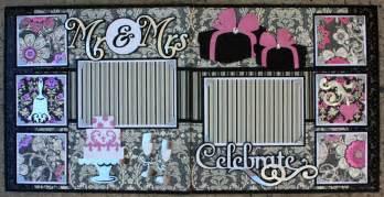 Wedding Scrapbook Albums 12x12 Complete Wedding Album Series Celebrate 12x12 Double Scrapbook Layout Faith Abigail Designs