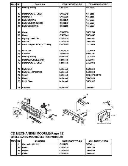 pioneer deh 2450ub wiring diagram wiring diagram and