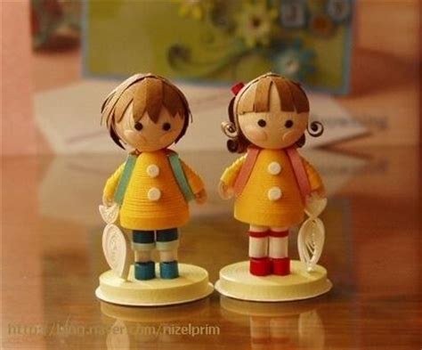 quilling tutorial doll 56 best quilling sles images on pinterest paper