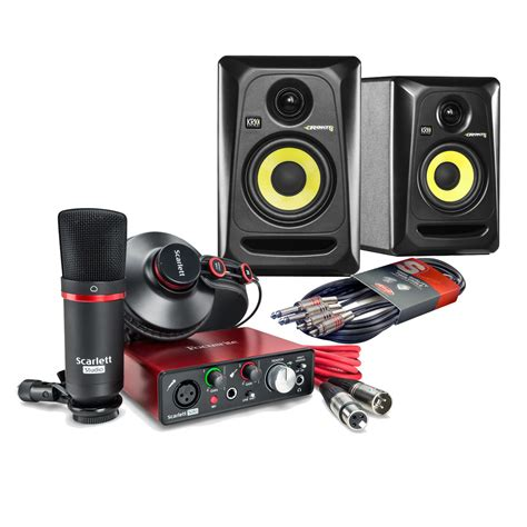 focusrite home studio bundle 2nd at
