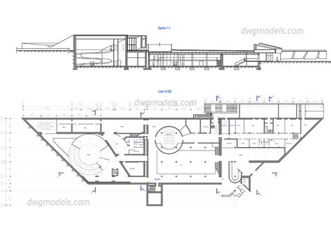 Floor Plan Dwg by Historical Museum Dwg Free Cad Blocks Download