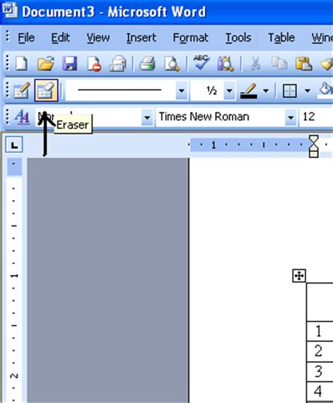 erase table erase table in microsoft word 2003 microsoft office support