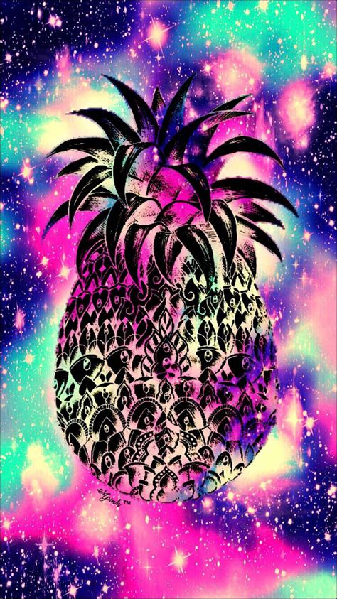 girly wallpaper for ipad galaxy midnight pineapple wallpaper lockscreen girly cute