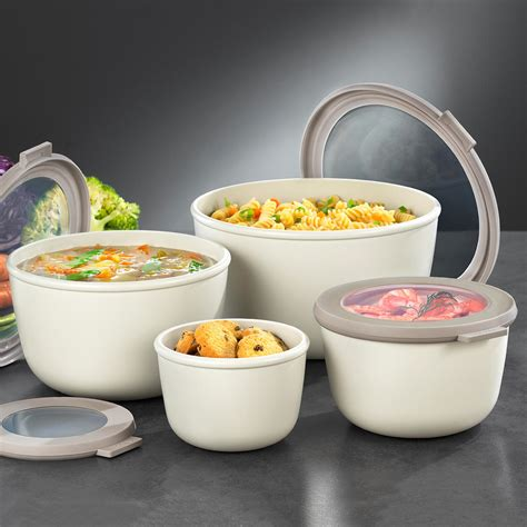 buy multi bowl set of 4 3 year product guarantee