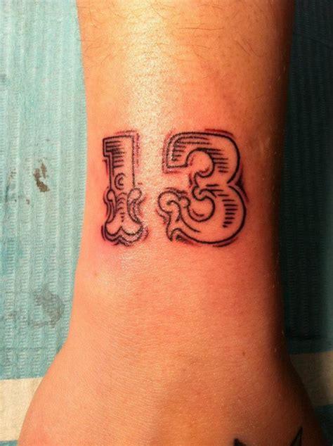 Tattoo Gallery Numbers | numbers tattoo by hania sobieski tattoomagz