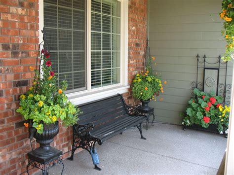 outdoor porch ideas front porch planters landscaping garage ideas
