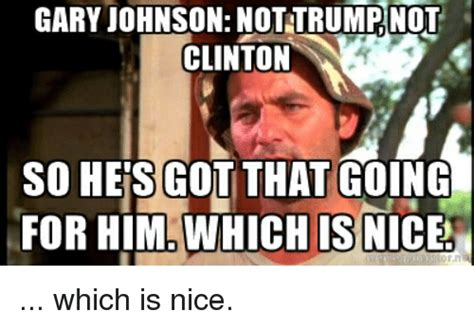 Gary Johnson Memes - 2016 politics thread enter at your own risk all