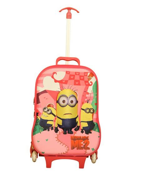 gamme minion baby pink f trolley bag for buy gamme minion baby pink f trolley bag for