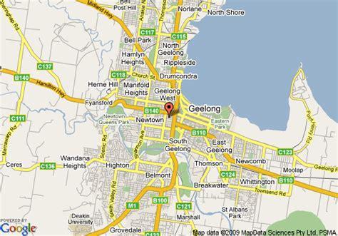 comfort inn parkside map of comfort inn parkside geelong