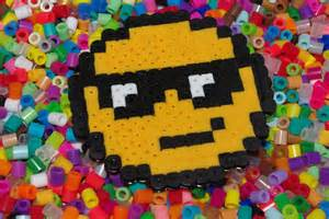 Kids Garden Crafts - perler bead obsession happiness is homemade
