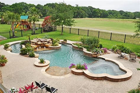 pools  beautiful residential pools  cost  build