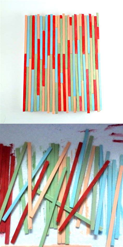 stick wall paint stick crafts diy projects craft ideas how to s for