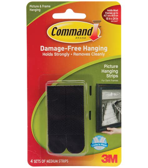 command medium picture hanging strips jo ann command medium picture hanging strips black jo ann