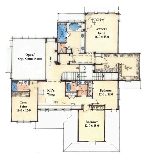 4200 sq ft house plans 4200 sq ft second large homes pinterest