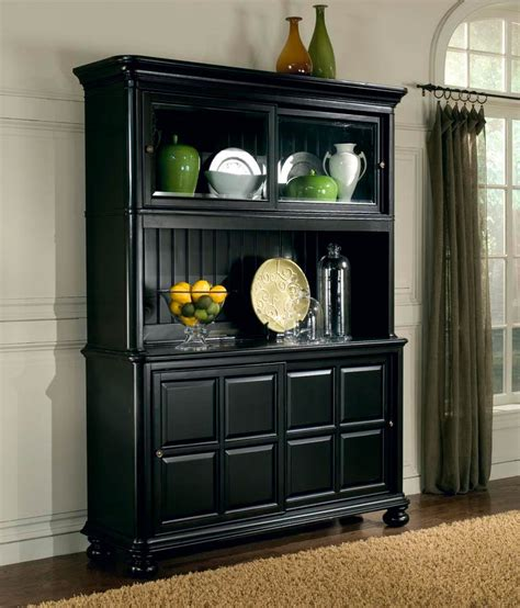 black dining room hutch dining room on pinterest black hutch farmhouse dining rooms and dining rooms