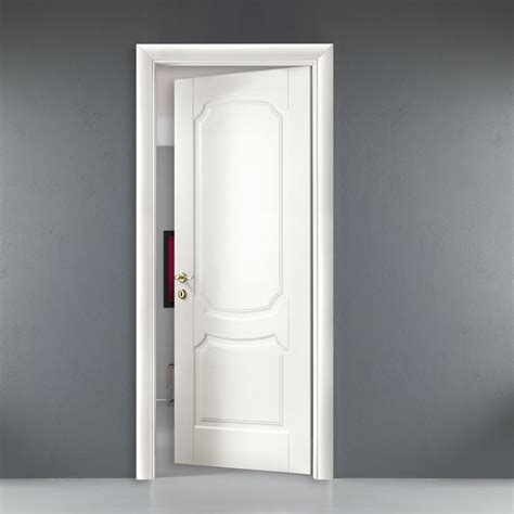 indoor porte indoor door white colored wood