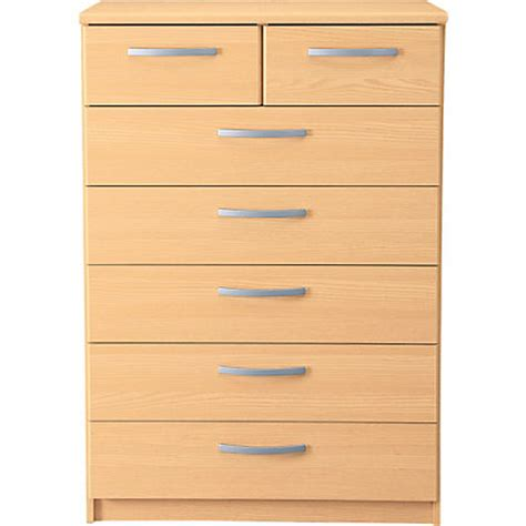new hallingford 5 2 drawer chest beech effect