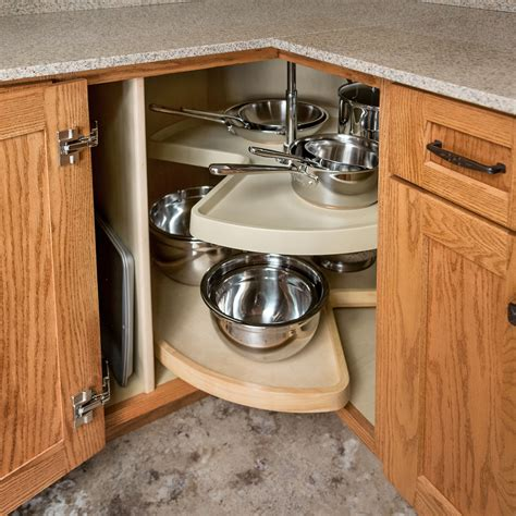 Corner Cabinet Solutions Storage Solutions Custom Wood Kitchen Corner Cabinet Storage Solutions