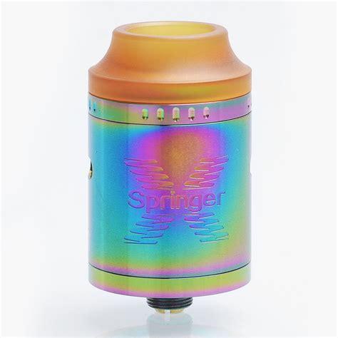 Tigertek Springer X 24 Rda Atomizer Gold Clone Vp02550 23 99 authentic tigertek springer x rda rainbow ss 24mm atomizer