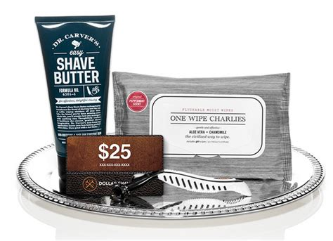 Dollar Shave Club Gift Card - dollar shave club gift set on sale at hautelook my subscription addiction